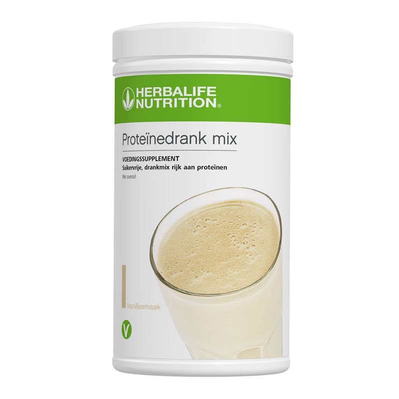 Proteïnedrank mix vanille 588 g