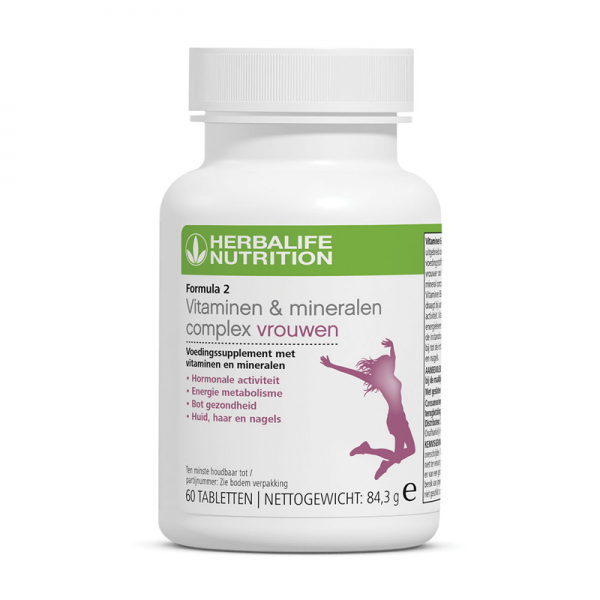 Formula 2 Vitaminen- & Mineralencomplex Vrouwen