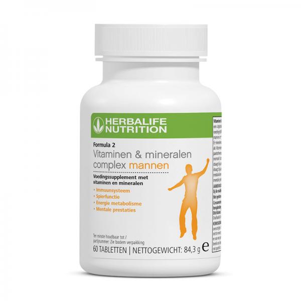 Formula 2 Vitaminen- & Mineralencomplex Mannen