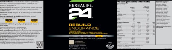 H24 Rebuild strength chocolade 1000 g