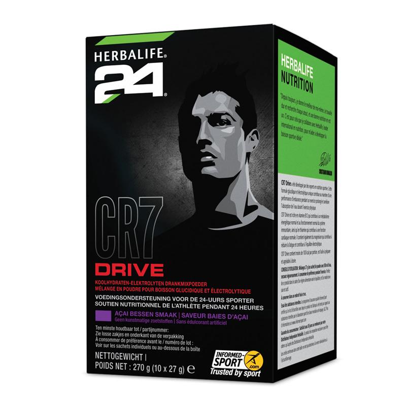 CR7 Drive Sachets açai bessen smaak