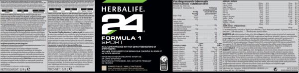 Formula 1 Sport romige vanille 524 g
