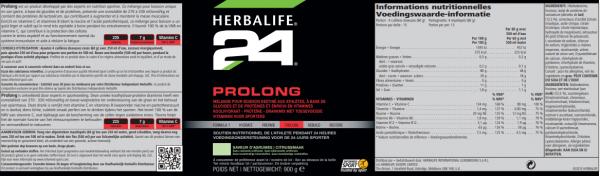 H24 Prolong citroen 900 g