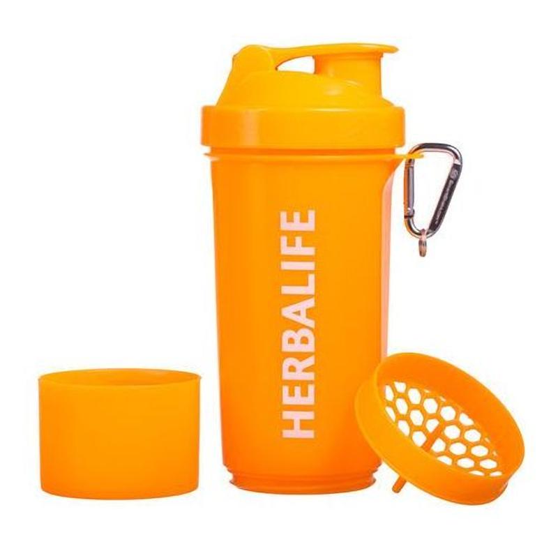 Neon Shaker oranje, 400 ml